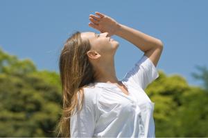 病気予防にもなる日光浴!